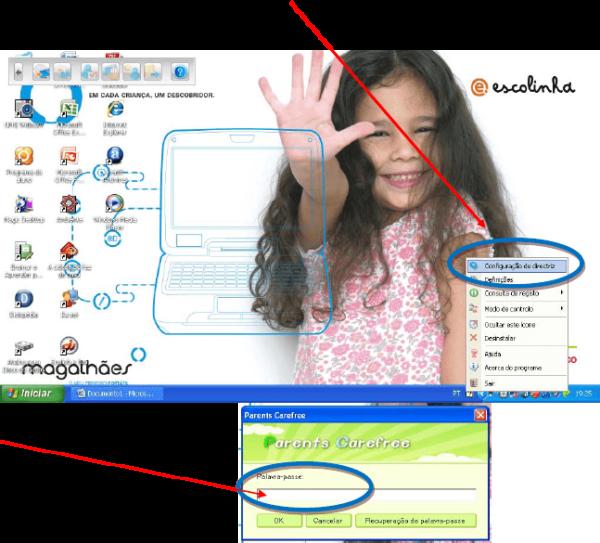 Como desbloquear a Internet no Magalhães 2 3