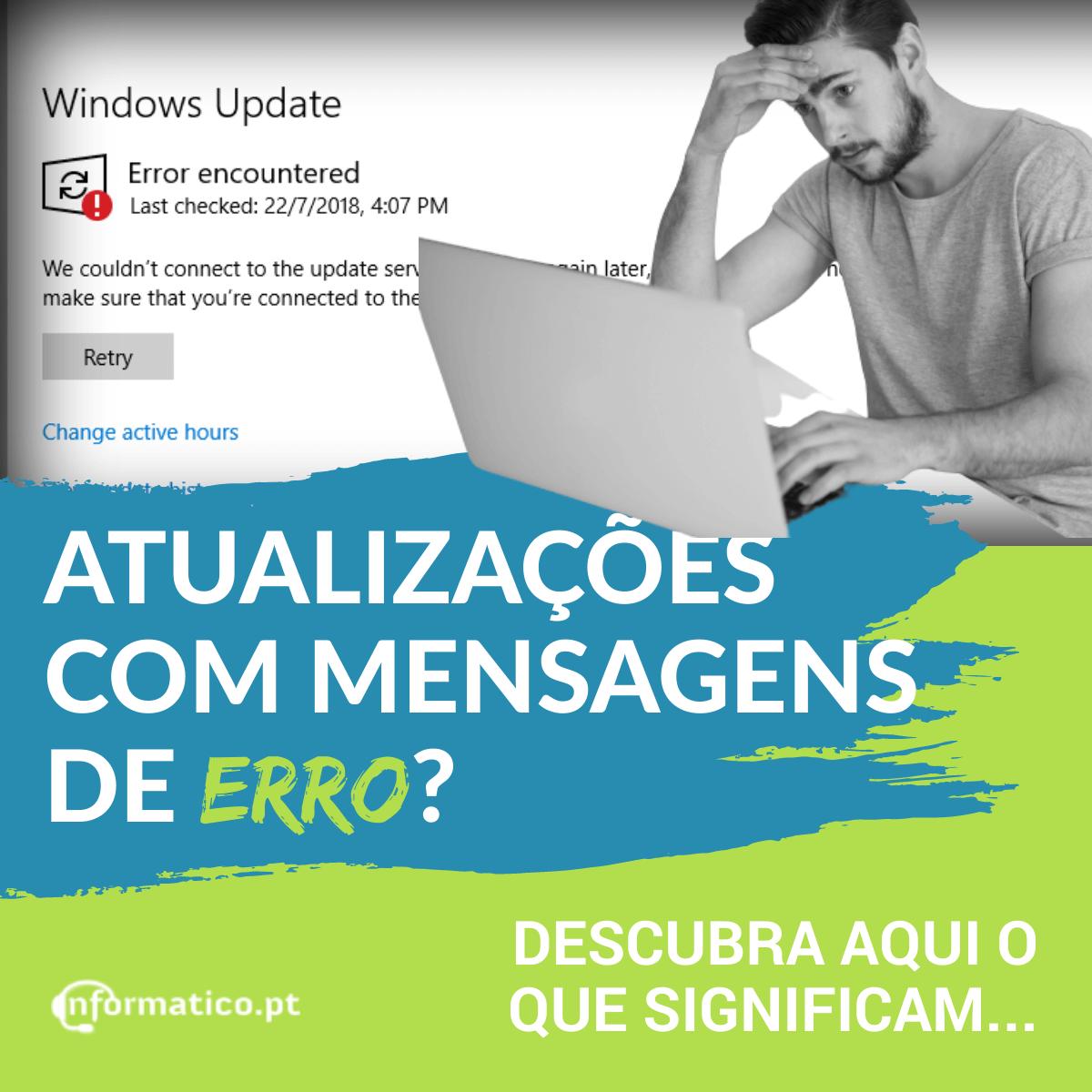 Como descodificar as mensagens de erro do Windows