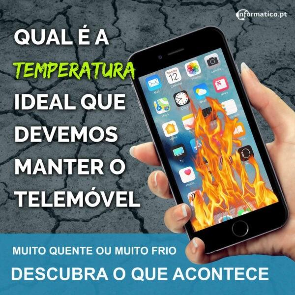 Temperatura ideal para manter o smartphone