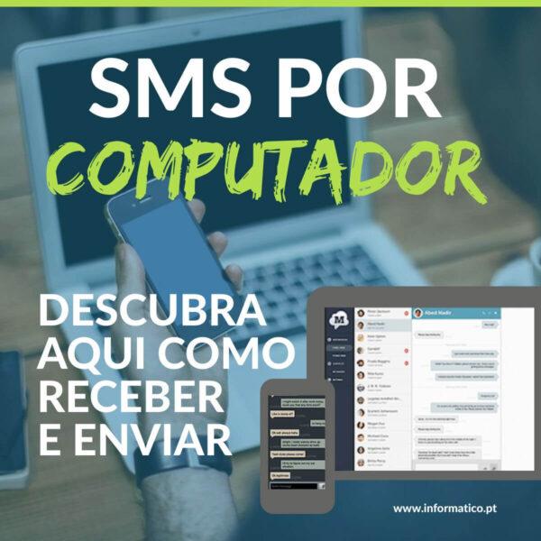 Como receber ou enviar mensagens SMS do computador