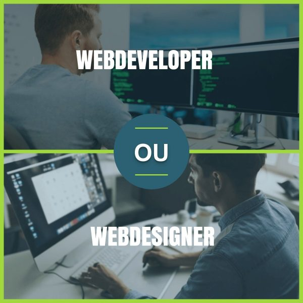 WEBDESIGNER VS WEBDEVELOPER