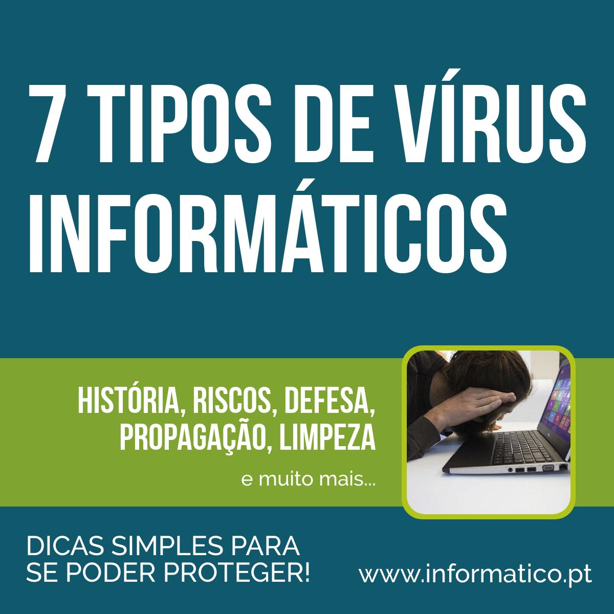tipos de virus informaticos