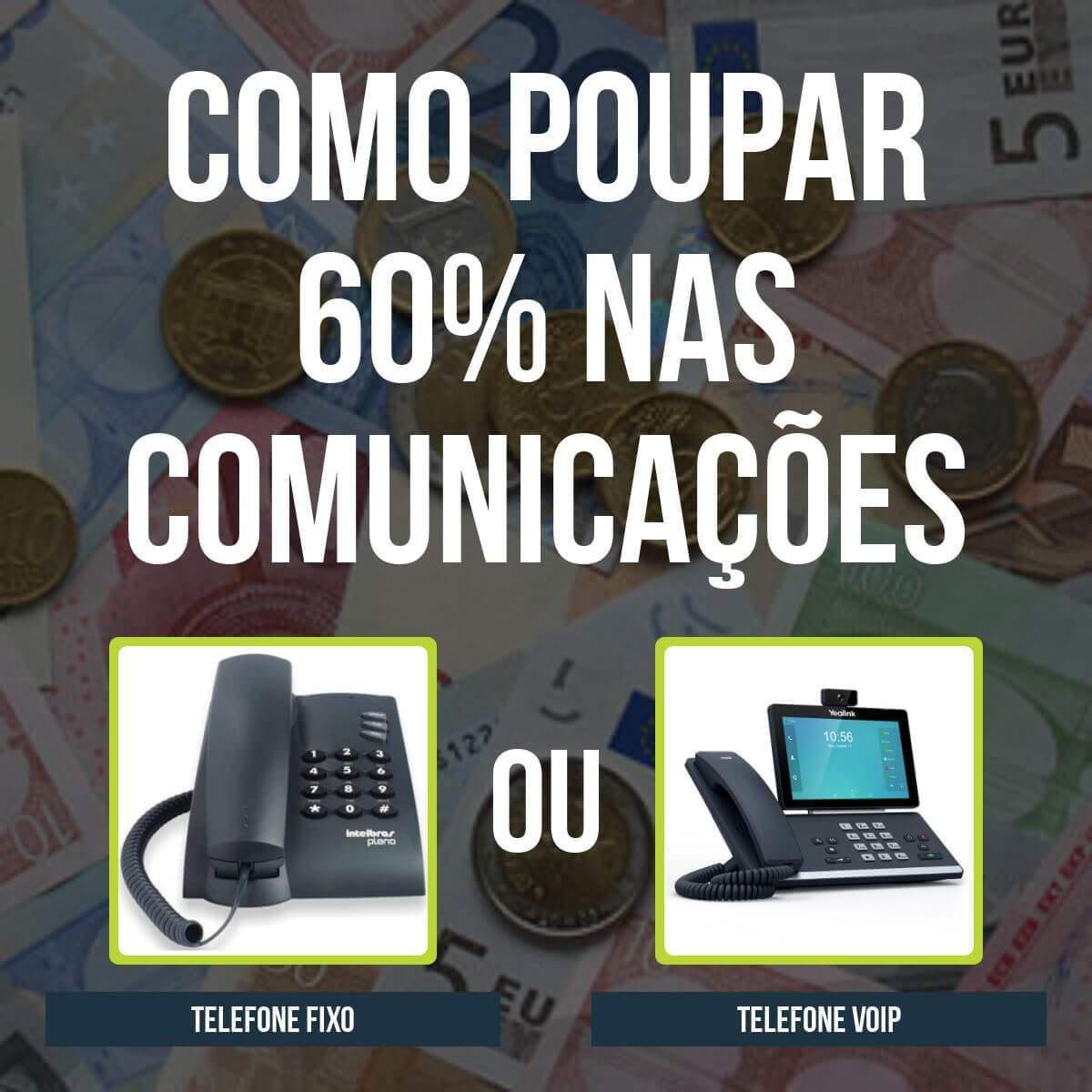 poupar telecomunicações