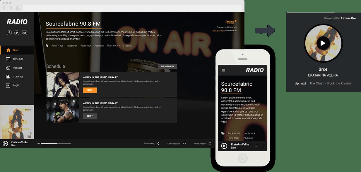 Iniciando uma estação de rádio da internet com o Airtime Pro