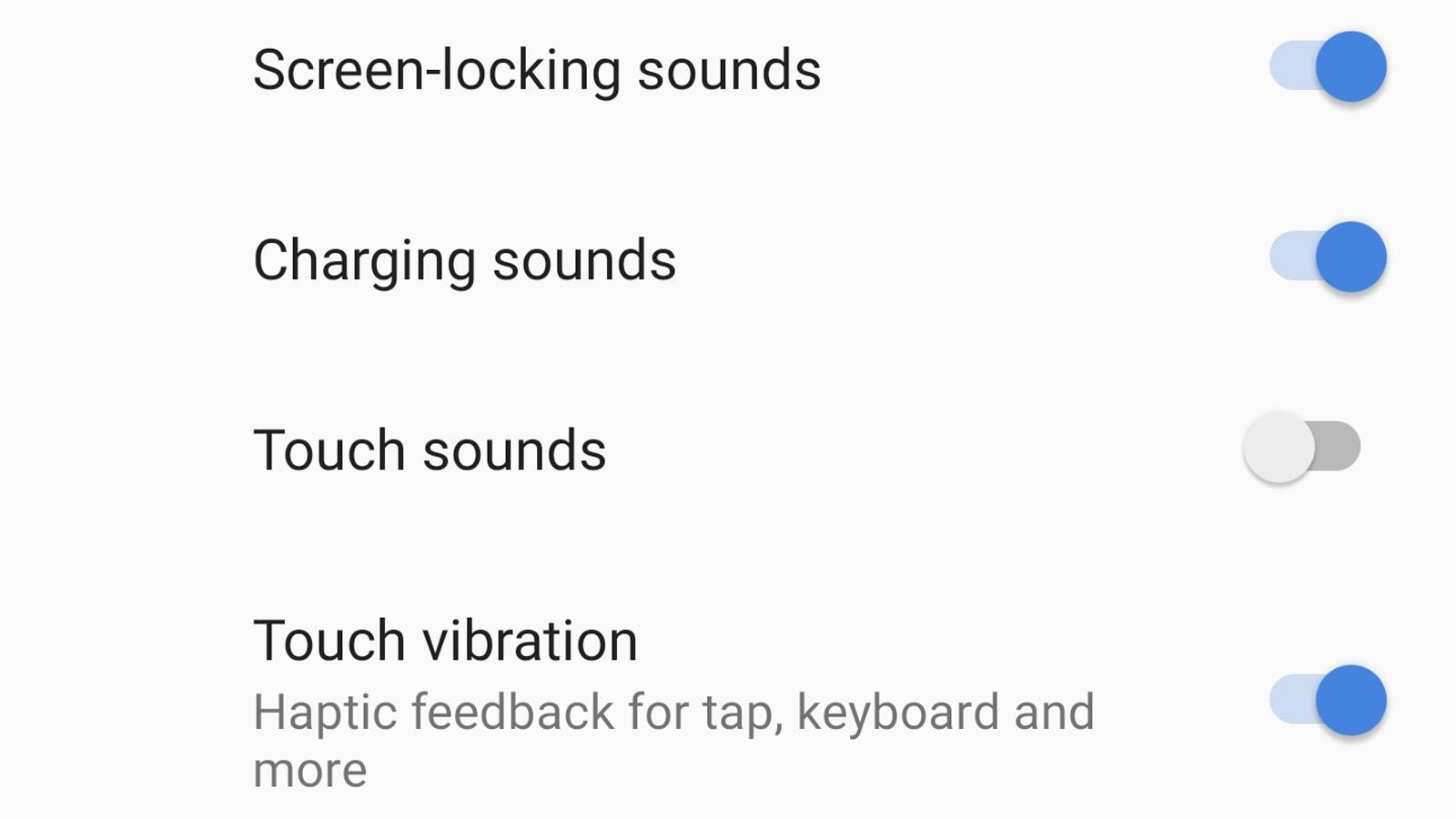 Vibração e feedback tátil