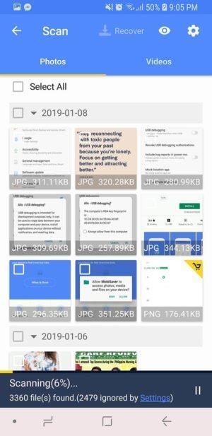 Descubra 3 formas de recuperar ficheiros perdidos do telemóvel 2