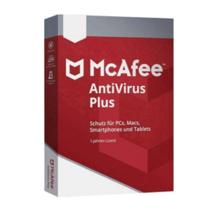 Licença software McAfee® AntiVirus Plus