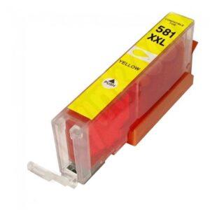 Tinteiro CANON C-581 XXL Amarelo – Compatível 1