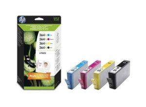 Tinteiros HP 364 XL (Pack 4 cores) – J3M83AE