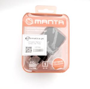 Carregador Manta 2 portas USB Preto 2