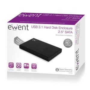 Caixa Disco Externo EWENT EW7044 2.5′ HDD/SSD SATA