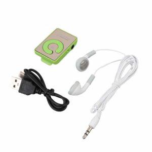 Laitor MP3 com phones e cabo alimentação