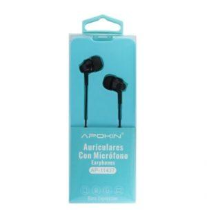 Auriculares c/ Microfone APOKIN AP-11437 1