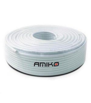 cabo-coaxial-amiko-rg6-tri-shield-100mt