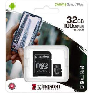 Cartão Micro SD 32GB – Kingston 1