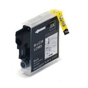 Tinteiros BROTHER LC980BK / LC985BK / LC1100BK – Compatível 1