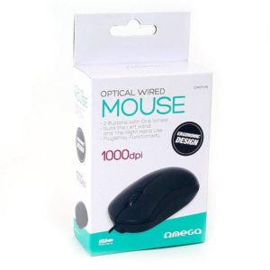 Rato Óptico OMEGA OM07VB 1000dpi – USB