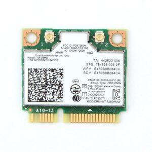 Placa de Rede PCI-Express Mini card