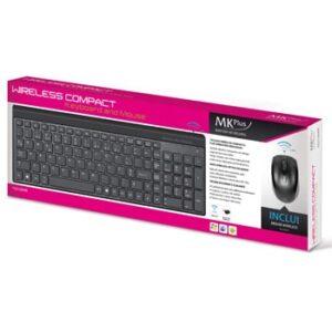 Teclado e Rato sem fios MKPLUS COMPACT TG5100WR
