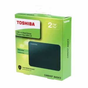 Disco Externo Toshiba 2TB 2.5′ Canvio Basics