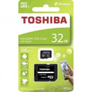Cartão Micro SD 32GB – Toshiba