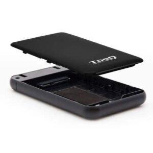 Caixa Disco Externo TOOQ TQE2528B 2.5′ SATA USB 3.1