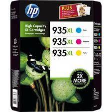 Tinteiros HP 935XL (Pack 3 Cores) – F6U78AE 1