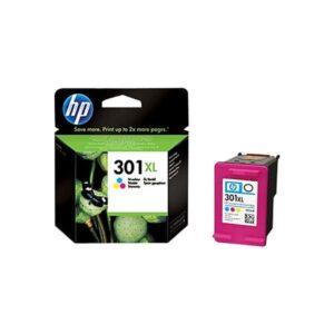 Tinteiro HP 301XL Cores – CH564EE 1