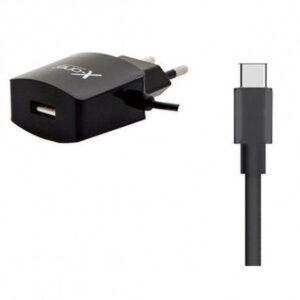 Carregador com Fio X-One 1 portas USB Preto 1