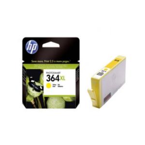Tinteiros HP 364 XL Amarelo - CB325EE