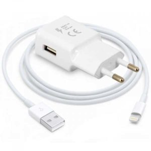 Carregador USB com cabo para IPhone