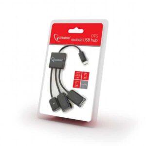 HUB USB GEMBIRD OTG Mobile