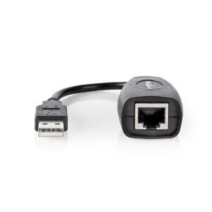 Cabo para extensão USB por RJ45 1