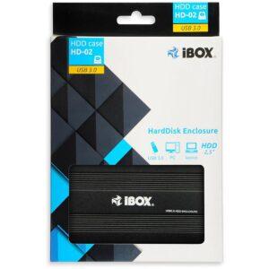 Caixa Disco Externo IBOX 2.5′ SATA USB 3.0