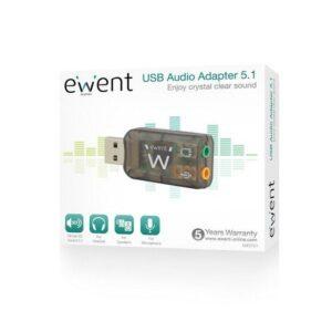 Adaptador de audio EWENT - externo