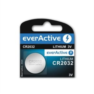 Pilha Litio Cr2032 3.0V - EverActive