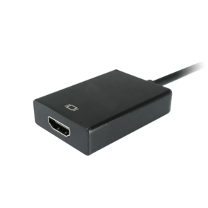 Adaptador VGA para HDMI com Audio