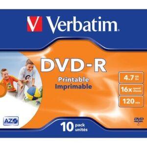 verbatim-dvd-r-imprimible-pack-10-uds-16x-jewel-case
