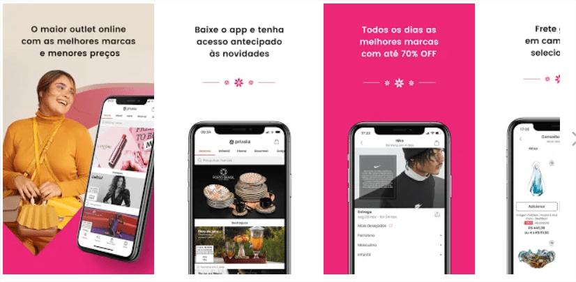Descubra 30 aplicações móveis para ficar na moda 7