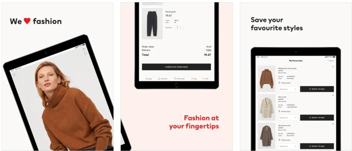 Descubra 30 aplicações móveis para ficar na moda 22