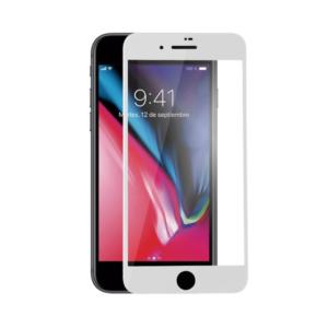 Vidro protector temperado IPHONE 6 / 7 / 8 - Branco